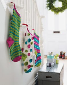 Brown Sheep Blog: Gifts to Knit and Crochet for the Holidays, Mix-and-Match Stockings