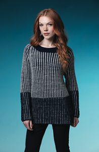 Brown Sheep Blog: Gifts to Knit and Crochet for the Holidays, Two Color Brioche Raglan Pullover