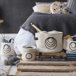 Brown Sheep Blog: Gifts to Knit and Crochet for the Holidays, Sweet Storage Baskets