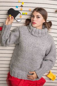 Brown Sheep Blog: Gifts to Knit and Crochet for the Holidays, Ouray Pullover