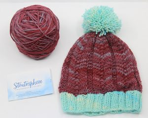 Corner of knit & tea brown sheep stratosphere yarn review