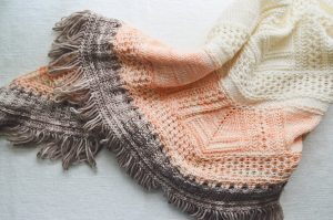 Pink Brutus Knits Stratosphere Yarn review - brown sheep yarn