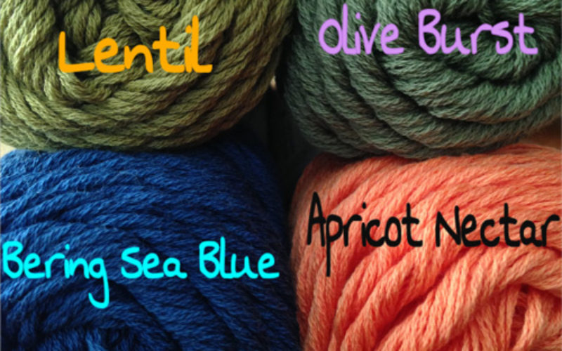New Color Line-Up for Cotton and Serendipity