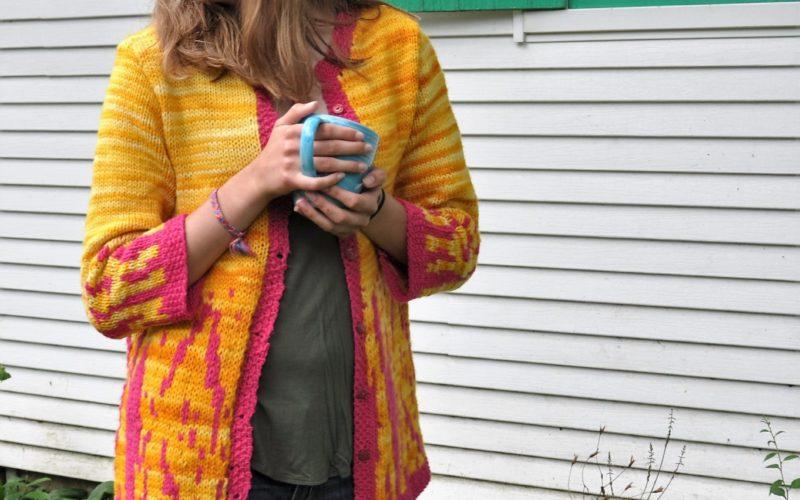 Morning Glory Sweater Coat
