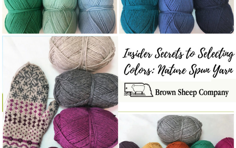 Insider Secrets to Selecting Colors: Nature Spun Yarn