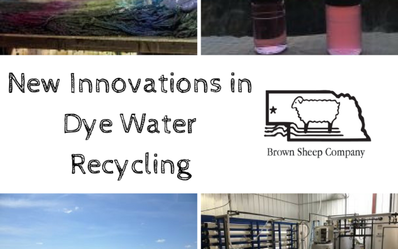 New Innovations in Dye Water Recycling