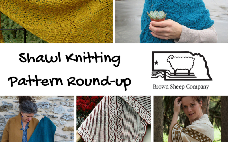 Shawl Knitting Pattern Round-up