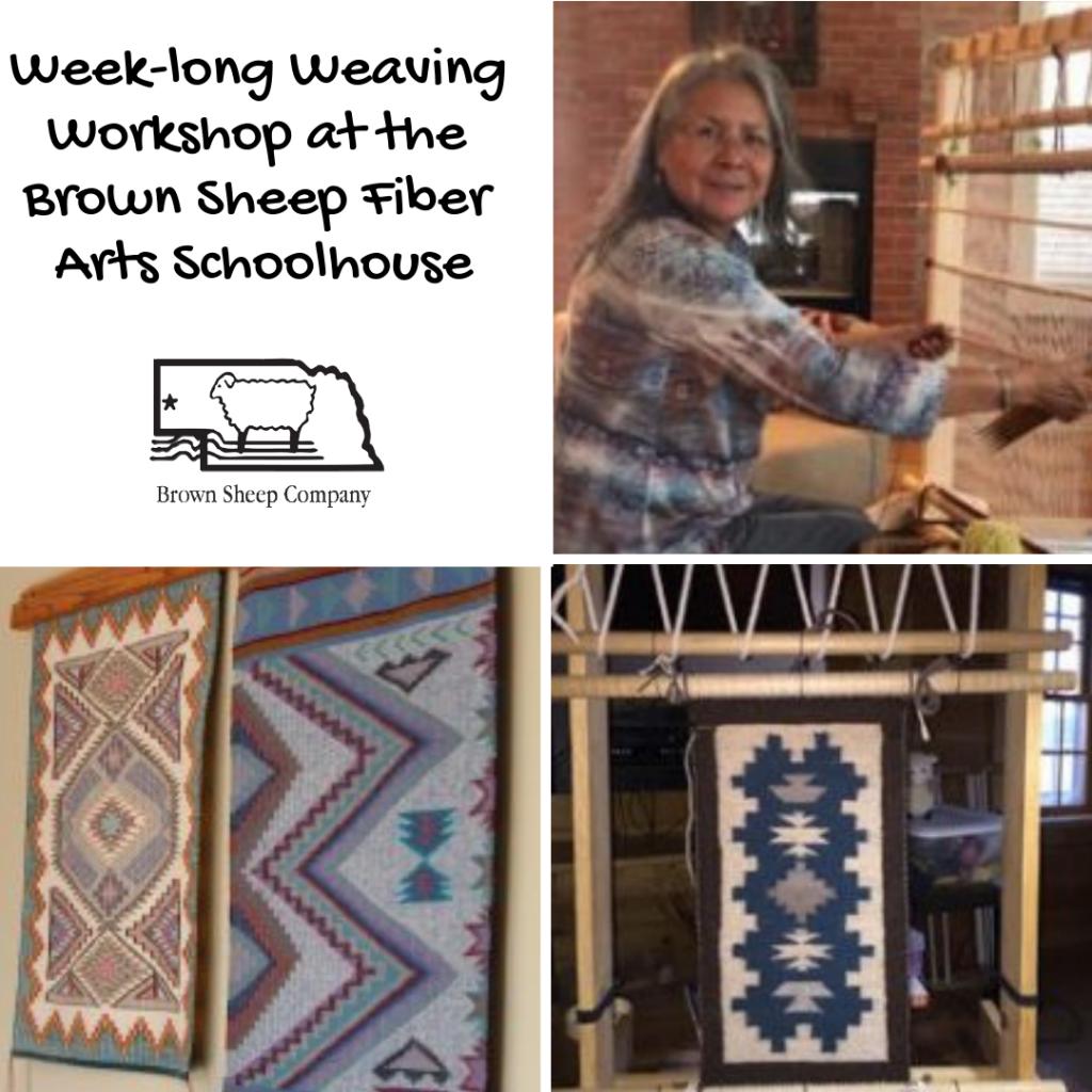 Week-long Weaving Workshop at the Brown Sheep Fiber Arts Schoolhouse