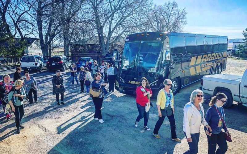 Bus Tours to Brown Sheep Company!