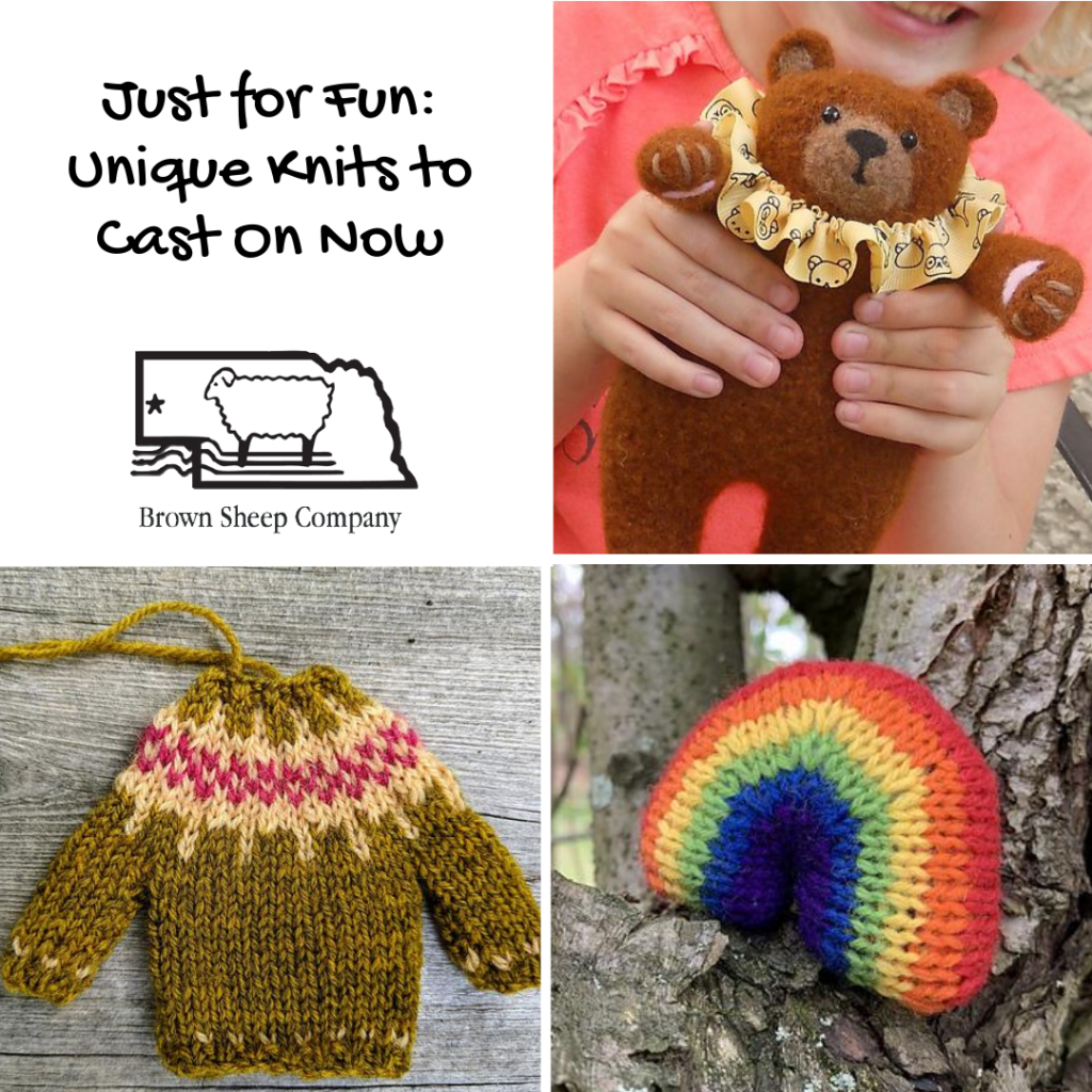 Just for Fun: Unique Knits to Cast On Now