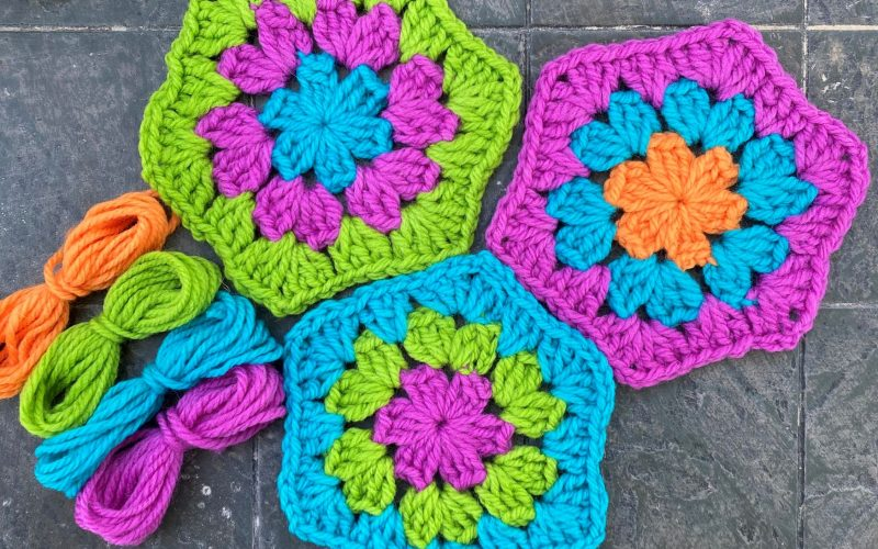 Celebrate Granny Square Day with Brown Sheep Yarns