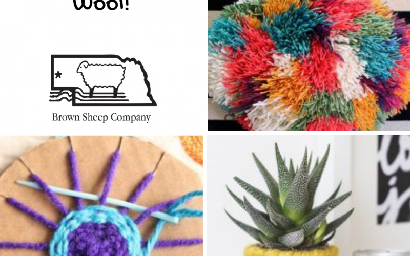 Celebrate National Craft Month with Wool!