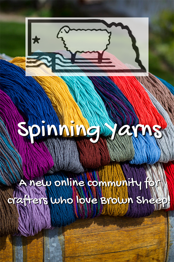 Spinning Yarns Community on Brown Sheep Company