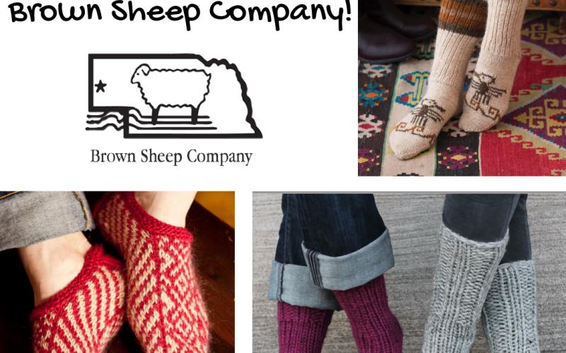 Celebrate Socktober with Brown Sheep