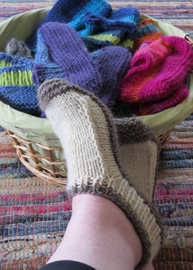 knit ankle socks